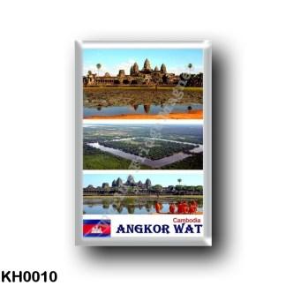 KH0010 Asia - Cambodia - Angkor Wat - Mosaic