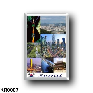 KR0007 Asia - South Korea - Seoul - Mosaic