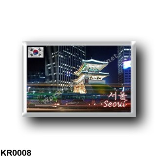 KR0008 Asia - South Korea - Seoul - Namdaemun at Night