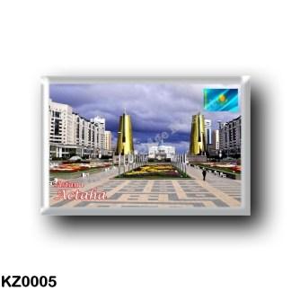 KZ0005 Asia - Kazakhstan - Astana - Panorama