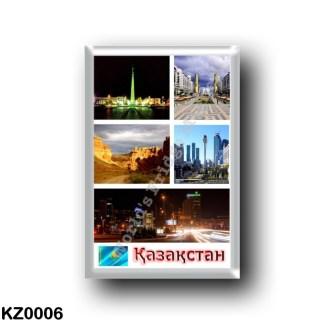 KZ0006 Asia - Kazakhstan - Kazakhstan Mosaic