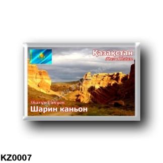 KZ0007 Asia - Kazakhstan - Sharyn Canyon