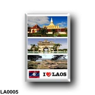 LA0005 Asia - Laos - I Love