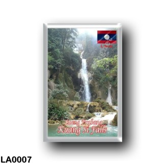 LA0007 Asia - Laos - Luang Prabang - Kuang Si Falls