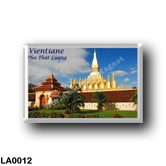 LA0012 Asia - Laos - Vientiane - Pha That Luang