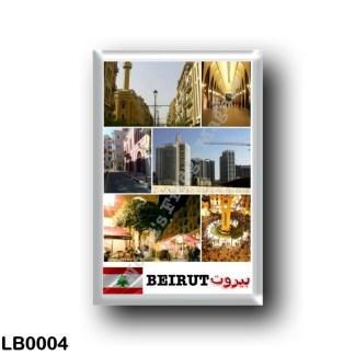 LB0004 Asia - Lebanon - Beirut - Mosaic