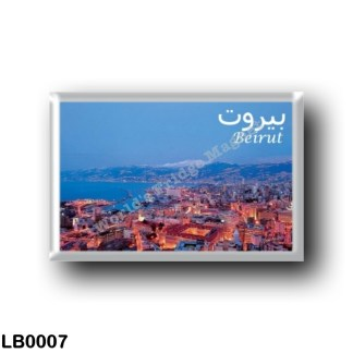 LB0007 Asia - Lebanon - Beirut - Panorama