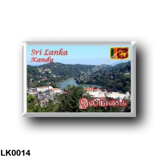 LK0014 Asia - Sri Lanka - Kandy Lake