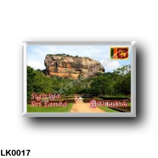 LK0017 Asia - Sri Lanka - The Sigiriya rock fortress