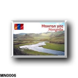 MN0006 Asia - Mongolia - Steppes