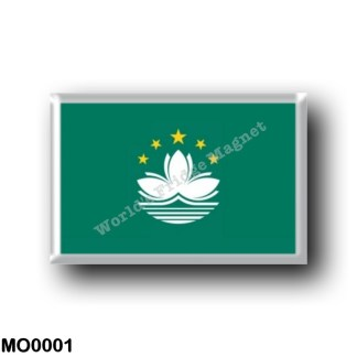 MO0001 Asia - Macau - Flag