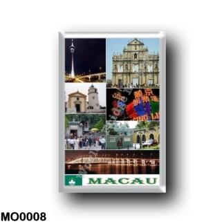 MO0008 Asia - Macau - Macao - Mosaic