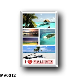 MV0012 Asia - Maldives - I Love