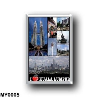 MY0005 Asia - Malaysia - Kuala Lumpur - I Love