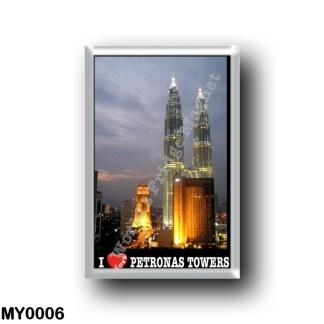 MY0006 Asia - Malaysia - Kuala Lumpur - I Love Petronas Tower