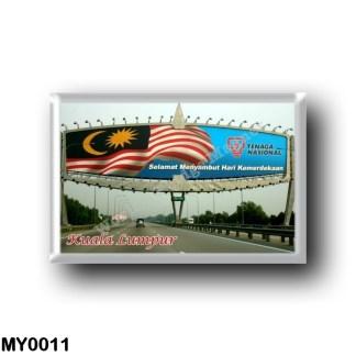 MY0011 Asia - Malaysia - Kuala Lumpur - Welcome