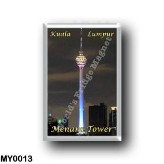 MY0013 Asia - Malaysia - Kuala Lumpur Menara Tower