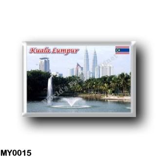 MY0015 Asia - Malaysia - Kuala Lumpur - Panorama