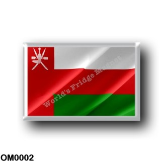 OM0002 Asia - Oman - Flag Waving