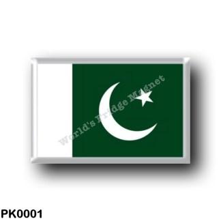 PK0001 Asia - Pakistan - Flag