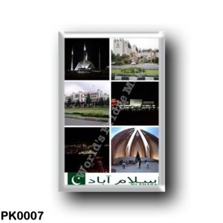 PK0007 Asia - Pakistan - Islamabad - Mosaic