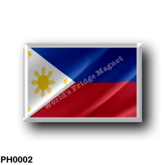 PH0002 Asia - Philippines - Flag Waving
