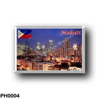 PH0004 Asia - Philippines - Makati City By Night