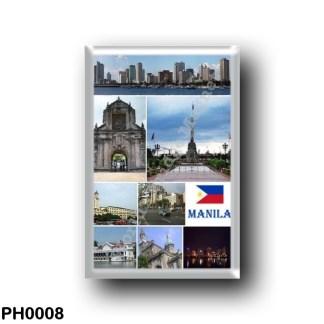 PH0008 Asia - Philippines - Manila Mosaic