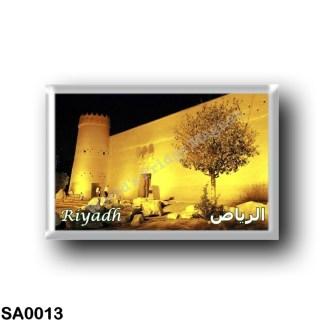 SA0013 Asia - Saudi Arabia - Riyagh at Night - Masmak Fortress