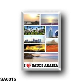 SA0015 Asia - Saudi Arabia - I Love