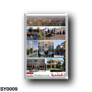 SY0009 Asia - Syria - Damasco - Mosaic