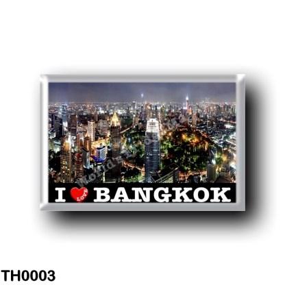 TH0003 Asia - Thailand - Bangkok By Night I Love
