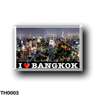 TH0003 Asia - Thailand - Bangkok By Night I Love