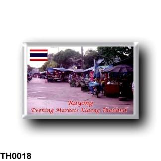 TH0018 Asia - Thailand - Rayong- Evening Markets Klaeng