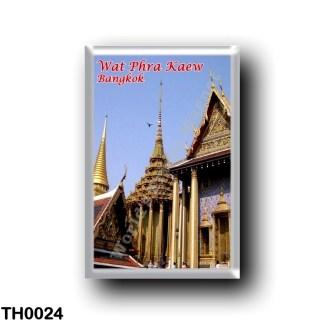 TH0024 Asia - Thailand - Wat Phra Kaew - Sacred Buddhist Temple