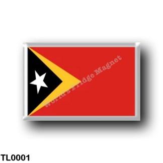 TL0001 Asia - East Timor - Flag