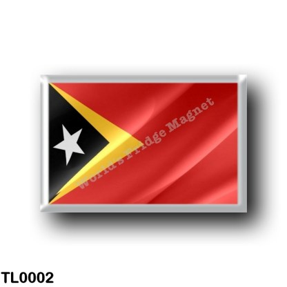 TL0002 Asia - East Timor - Flag Waving