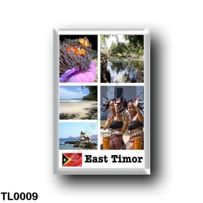 TL0009 Asia - East Timor - Mosaic