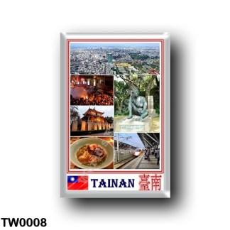 TW0008 Asia - Republic of China - Taiwan - Tainan - Mosaic