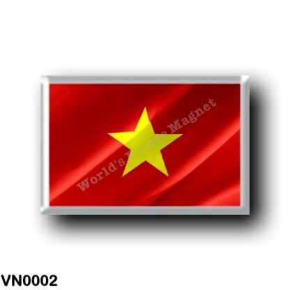 VN0002 Asia - Vietnam - Flag Waving
