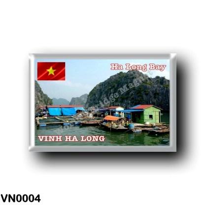 VN0004 Asia - Vietnam - Ha Long Bay - Fishing Village
