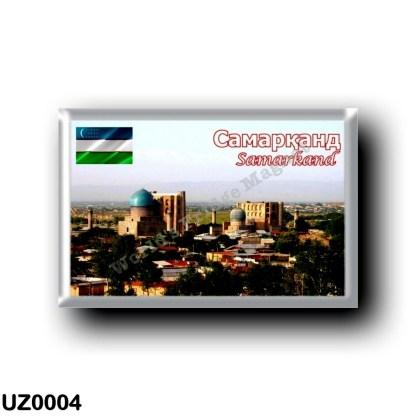 UZ0004 Asia - Uzbekistan - Samarkand - Panorama