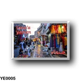 YE0005 Asia - Yemen - Sana'a - Old City Market