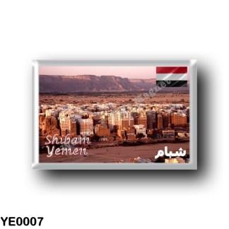 YE0007 Asia - Yemen - Shibam Panorama