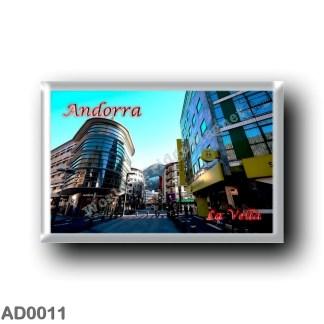 AD0011 Europe - Andorra - La Vella - Center