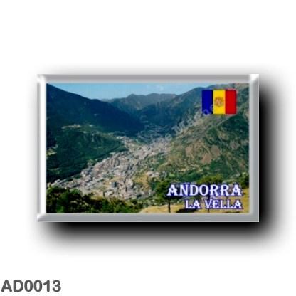 AD0013 Europe - Andorra - La Vella