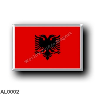 AL0002 Europe - Albania - Albanian Flag