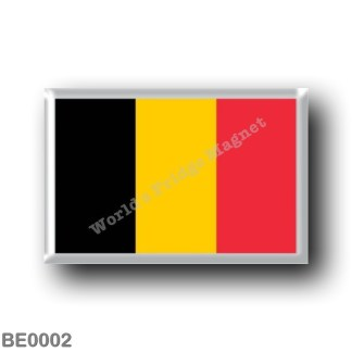 BE0002 Europe - Belgium - Belgian flag