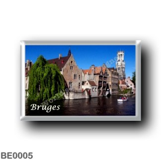 BE0005 Europe - Belgium - Bruges - Canal