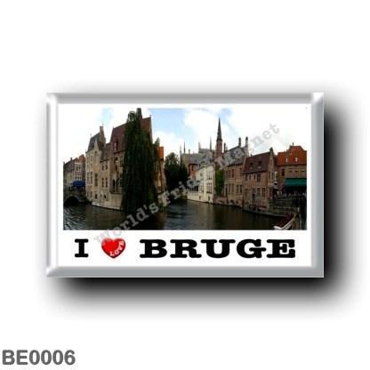 BE0006 Europe - Belgium - Bruges - I Love